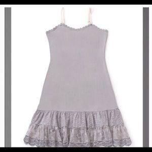 4668b14453613b Matilda Jane Dress extender grey medium lace slip